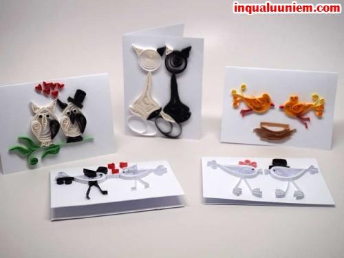 Các mẫu thiệp handmade đẹp cho người yêu - 2