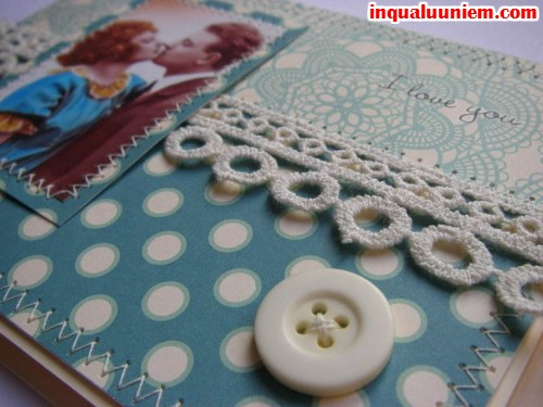 Các mẫu thiệp handmade đẹp cho người yêu - 4