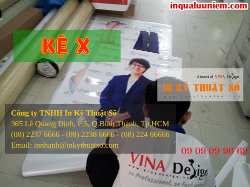 Đặt mua stande chữ X giá rẻ tại Công ty TNHH In Kỹ Thuật Số - Digital Printing