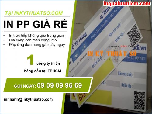 Dịch vụ in PP bồi format giá rẻ tại thành phố Hồ Chí Minh