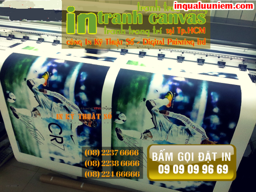 Bam goi dat dich vu in tranh canvas chat luong cao cua Cong ty TNHH In Ky Thuat So - Digital Printing