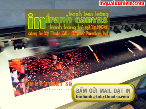 Gui email yeu cau dat dich vu in tranh canvas chat luong cao cua Cong ty TNHH In Ky Thuat So - Digital Printing