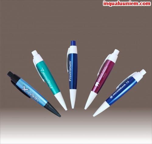 Sản phẩm in bút nhựa quảng cáo làm quà tặng tại Cty TNHH In Kỹ Thuật Số - Digital Printing
