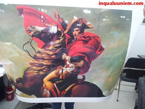 In tranh canvas khổ lớn, in canvas số lượng nhiều cho khách hàng - Trực tiếp in ấn tại Công Ty In Quà Lưu Niệm bằng máy in mực nước/mực dầu cho thành phẩm chất lượng tuyệt vời