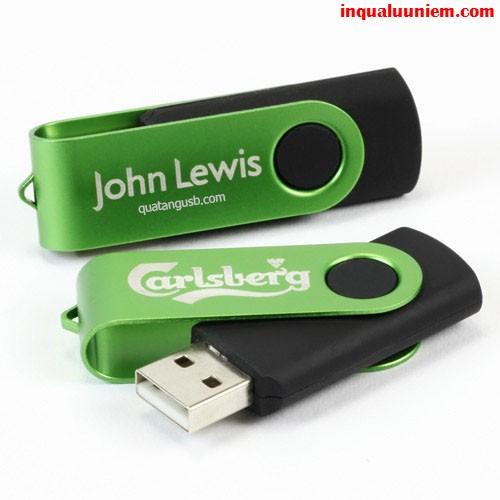 Sản phẩm USB kim loại sang trọng được in bằng công nghệ in UV tại Cty TNHH In Kỹ Thuật Số - Digital Printing