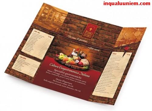 Những mẫu in thực đơn cho đặc sản ngon nhà hàng - 2