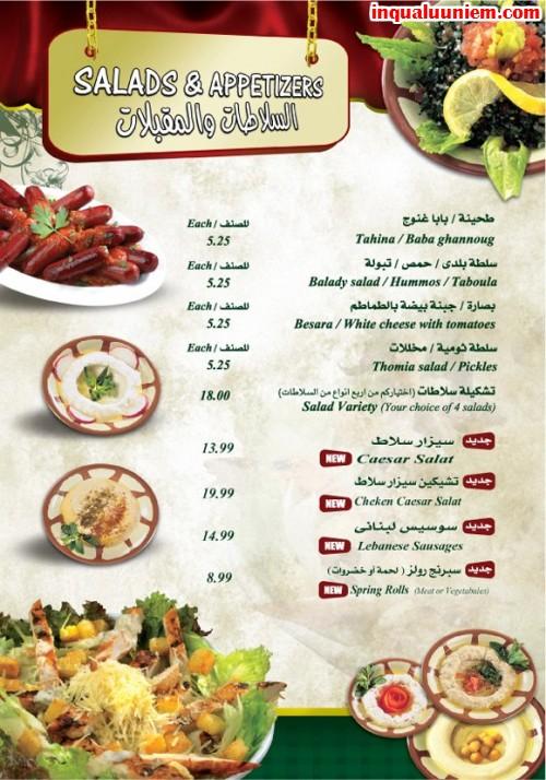 Những mẫu in thực đơn cho đặc sản ngon nhà hàng - 5